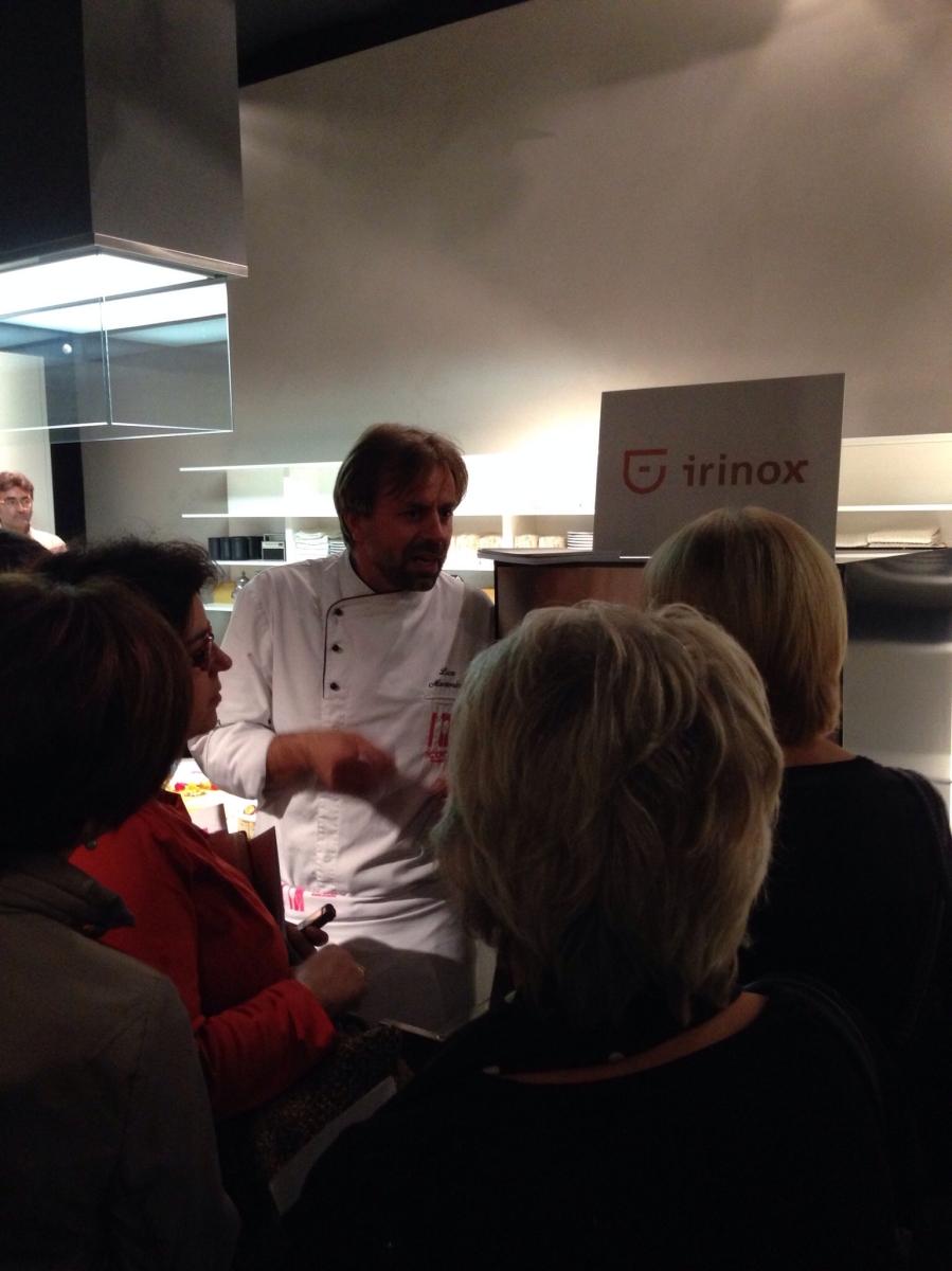 Irinox presenta i nuovi abbattitori da casa freddy fresco showroom boffi chefs4passion - Abbattitore da casa ...