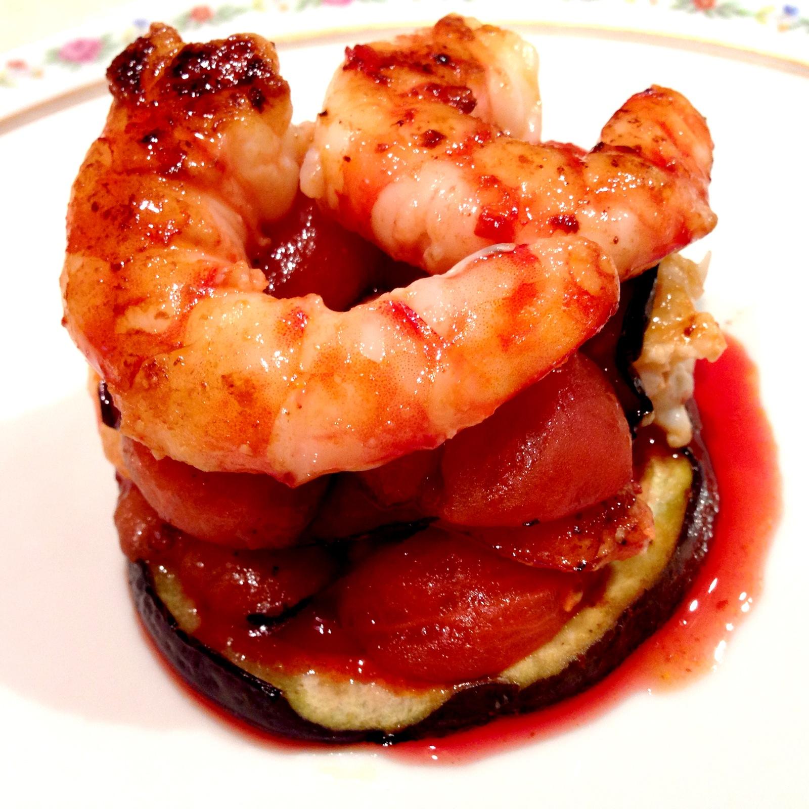 Parmigiana Di Gamberi Con Riduzione Al Campari Chefs4Passion #850A06 1600 1600 Ricette Cucina Disegnate