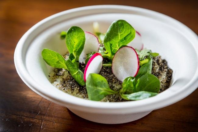 Patata sotto terra, l'uovo barzotto, asparagi