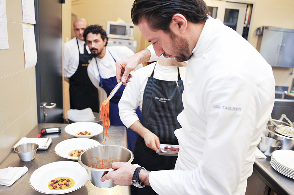 Lo spirito del tempo by distilleria bocchino chefs4passion for Luigi taglienti chef