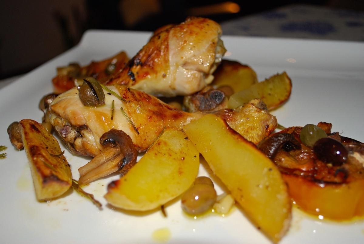 Pollo Al Forno Mediterraneo Chefs4passion